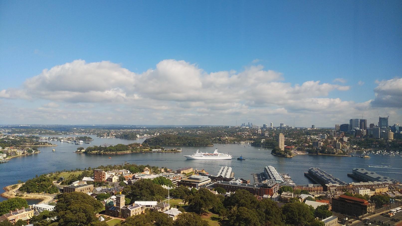 シドニーに来ています